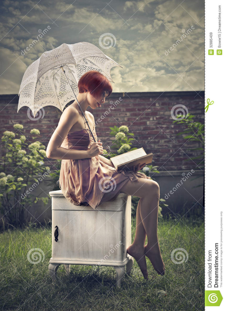 beautiful reading royalty free stock images image