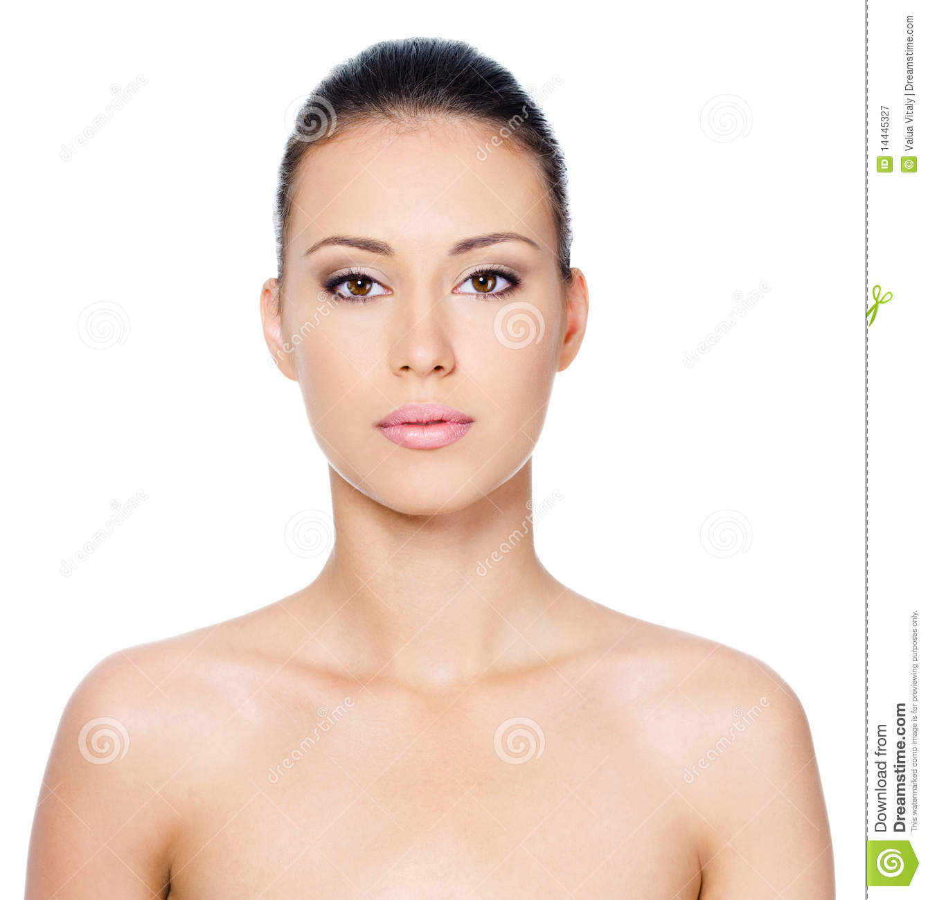 Beautiful Womans Face Royalty Free Stock Photography ...