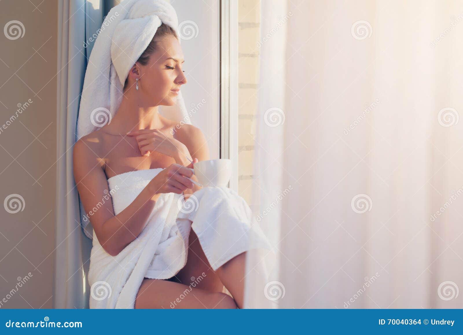 After shower jackpot window voyeur 3