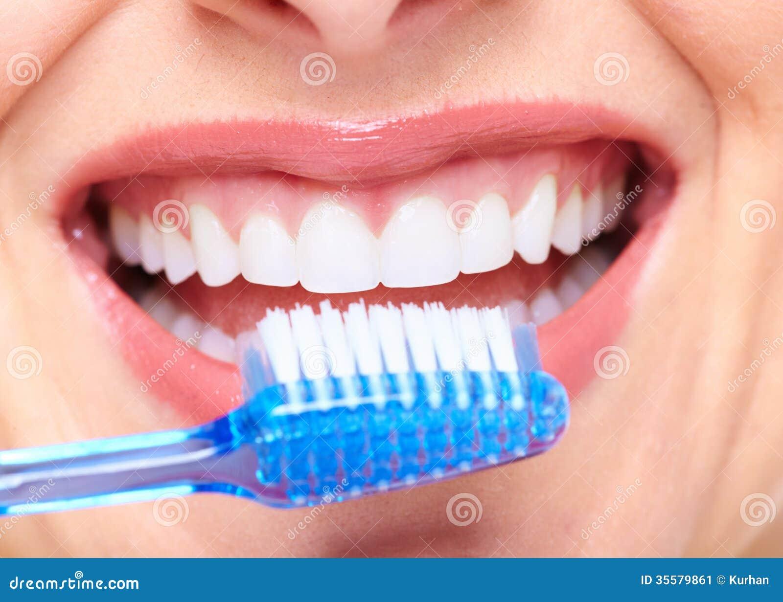 Beautiful Woman Smile Stock Image Image Of Girl Human 35579861