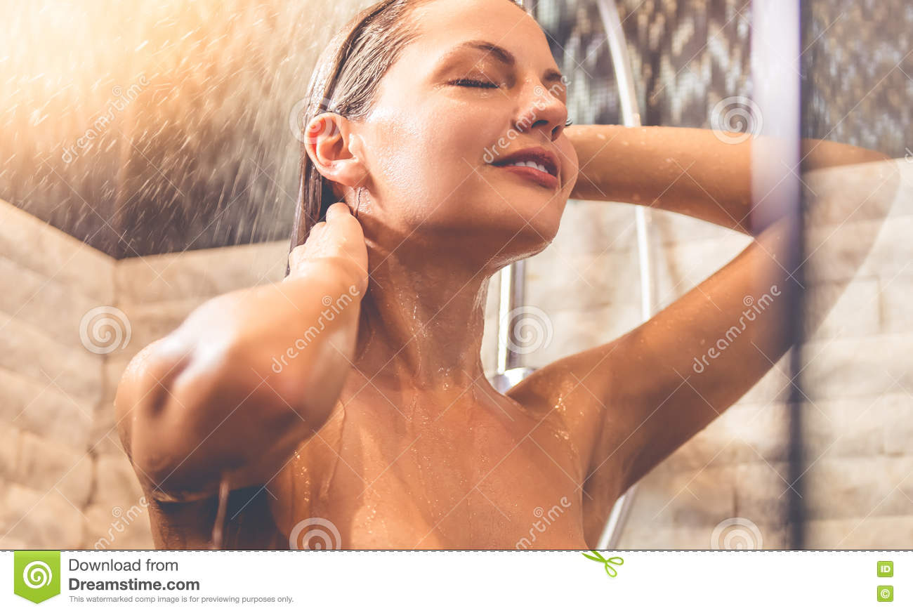 Remarkable, very takeing a shower naked