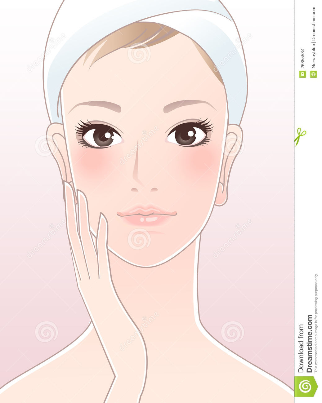 how to get healthy looking face