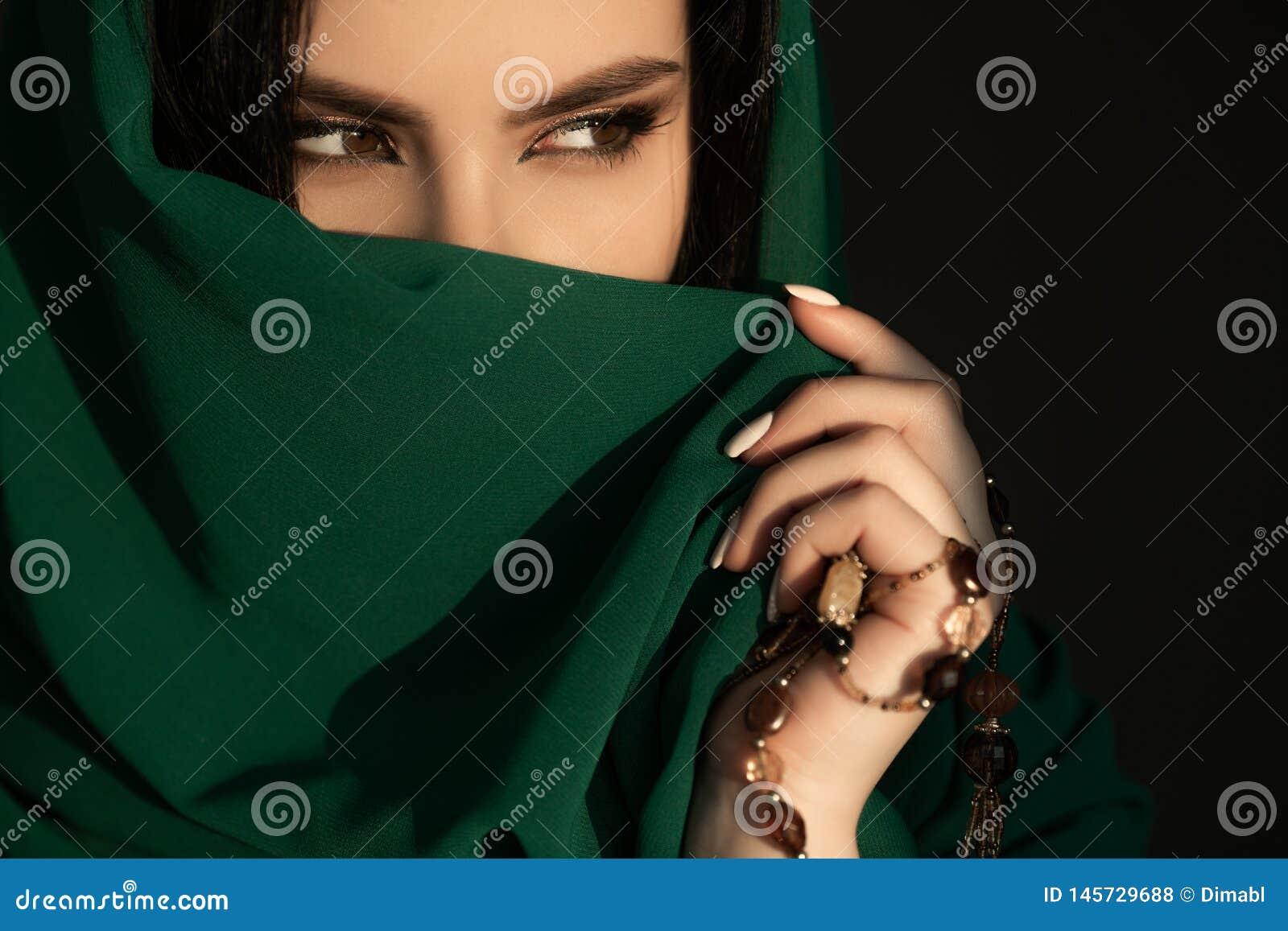 Beautiful Woman in Traditional Costume