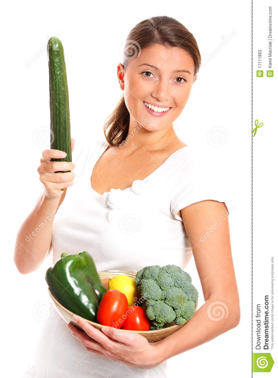 Adult Female With Raw Food Diet