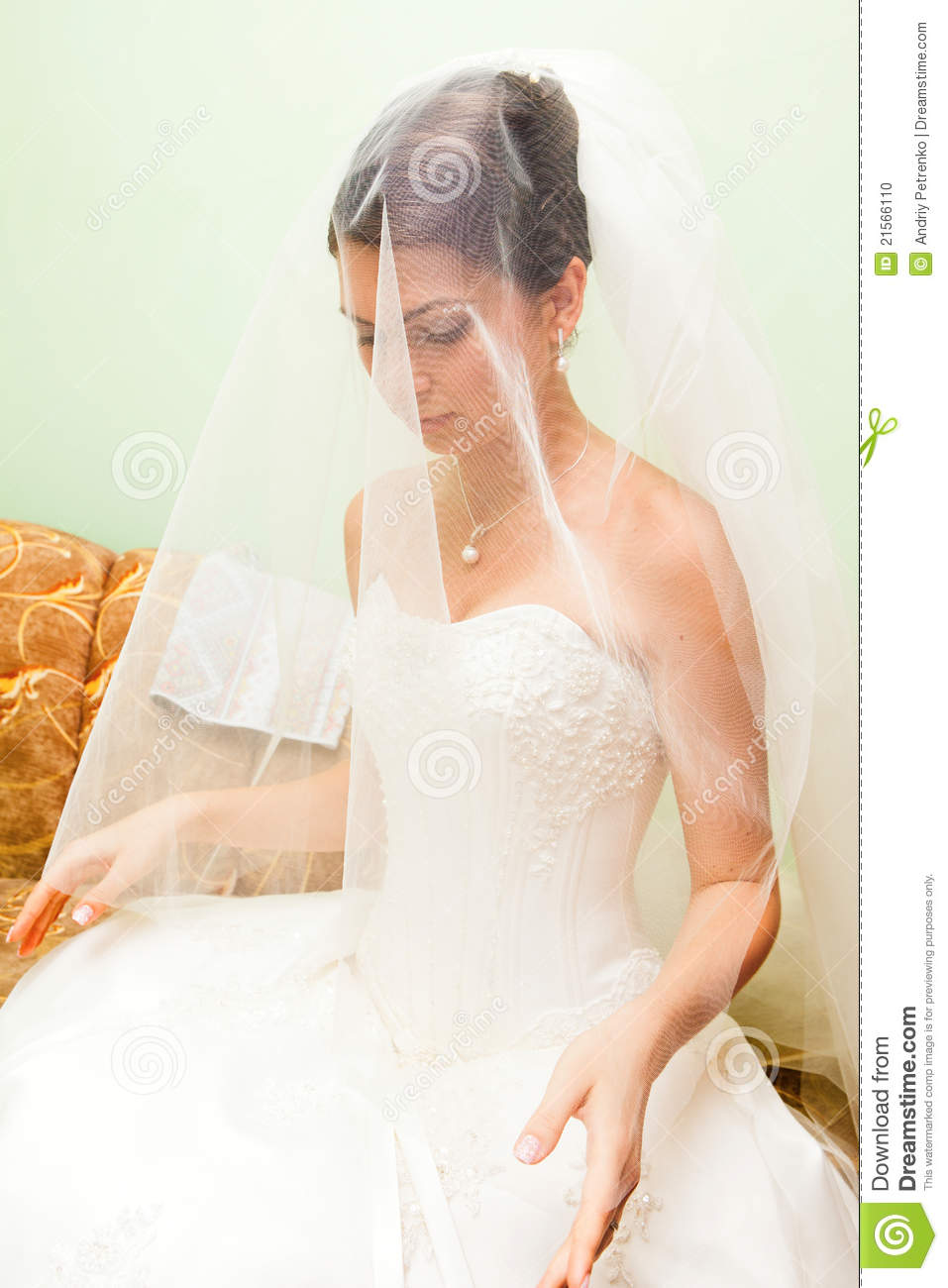 Beautiful woman in a wedding dress stock photo image for Woman in wedding dress