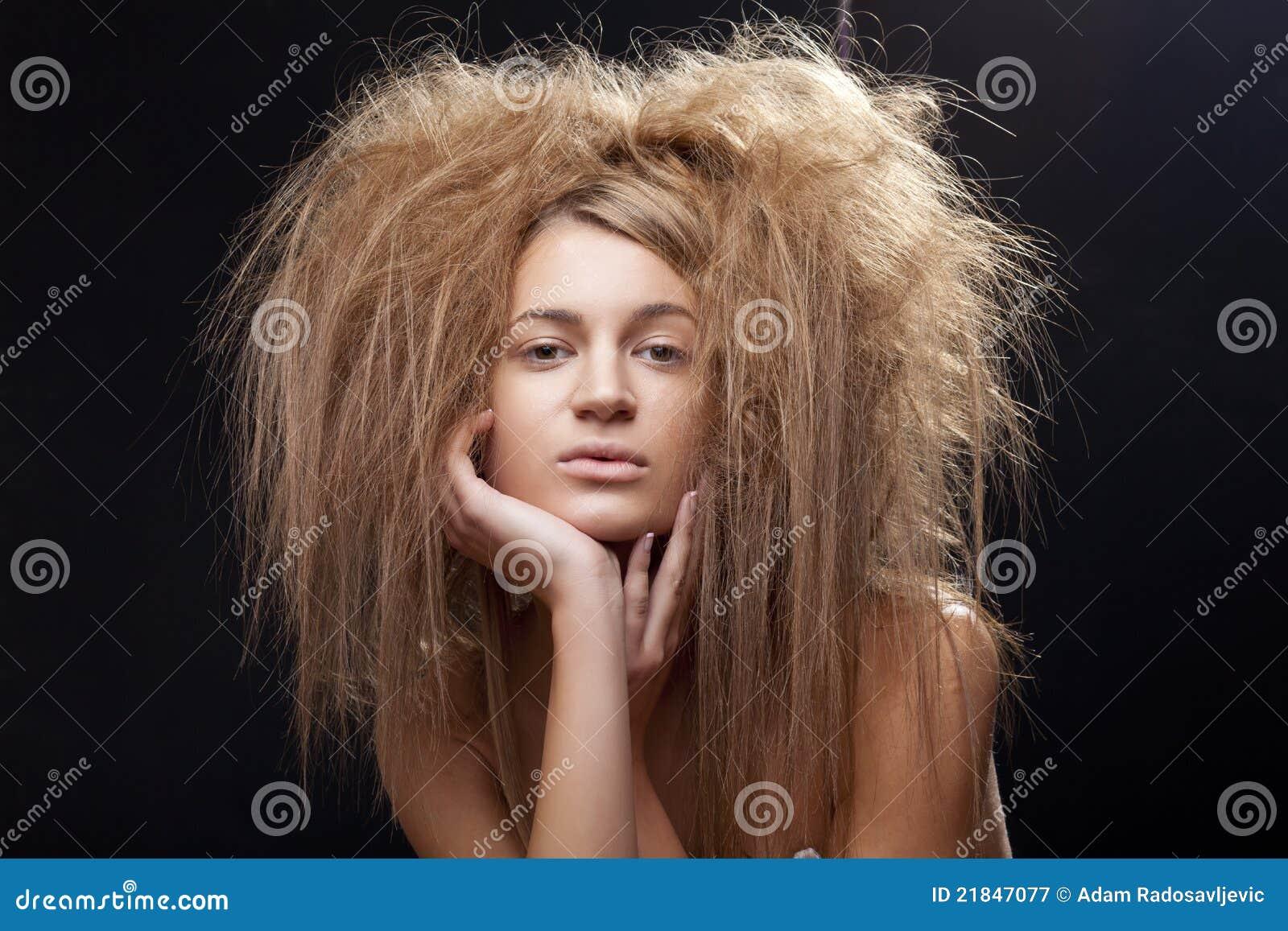 Причёска я у мамы дурочка