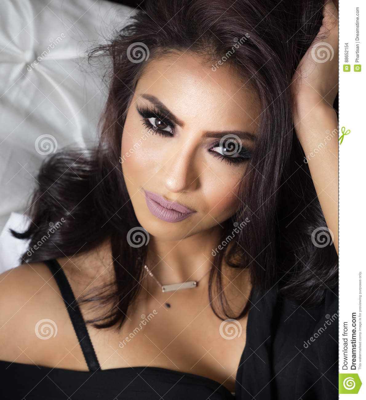 Download Beautiful Womans Face Exotic Features Stock Photo Image Of Gorgeous Latina