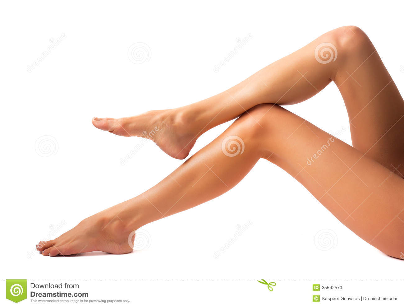 Beautiful women legs stock photo image of nude depilation 35542570 - Photo jambe femme ...
