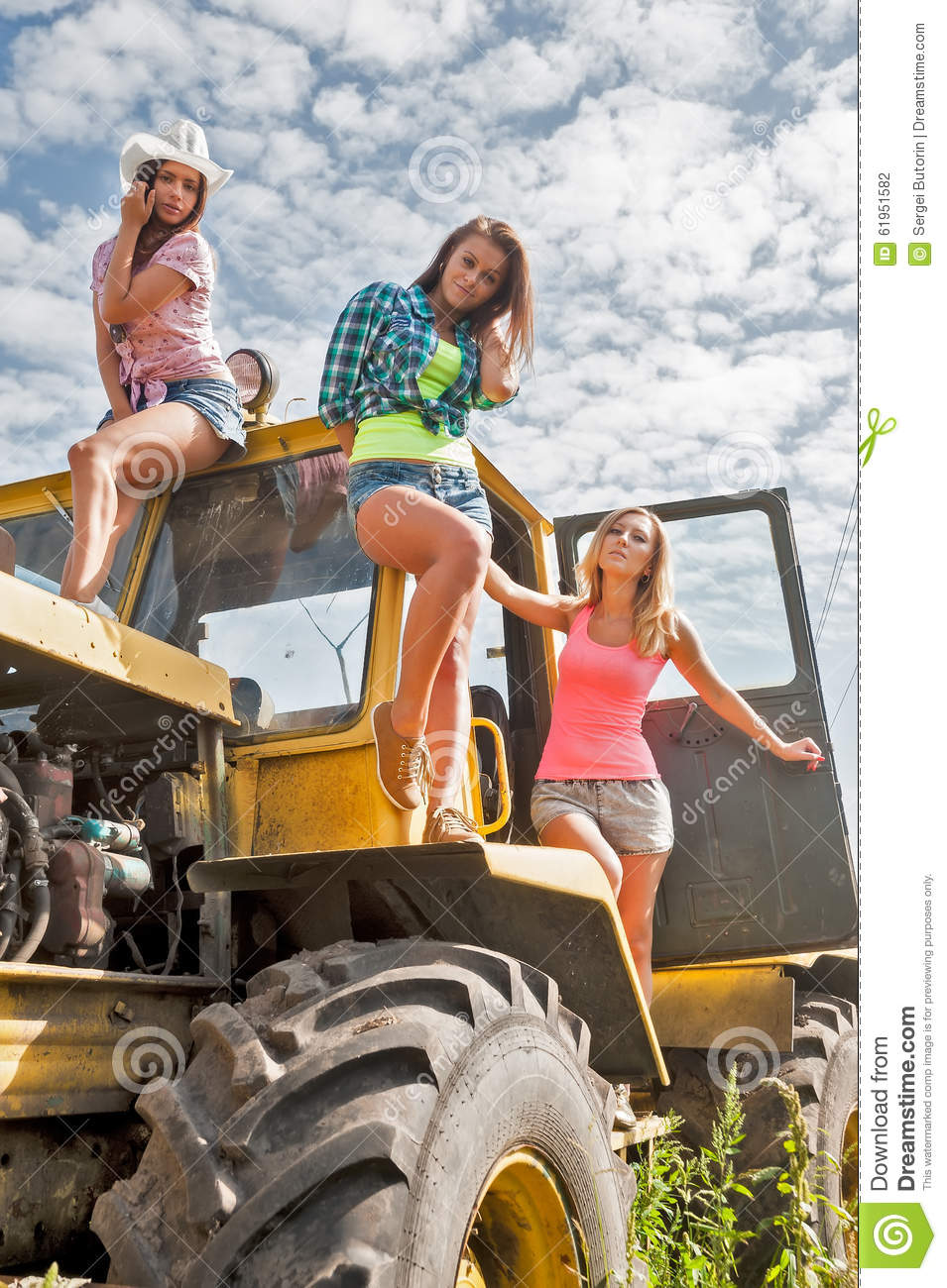 Something Big tractors and naked girls sorry