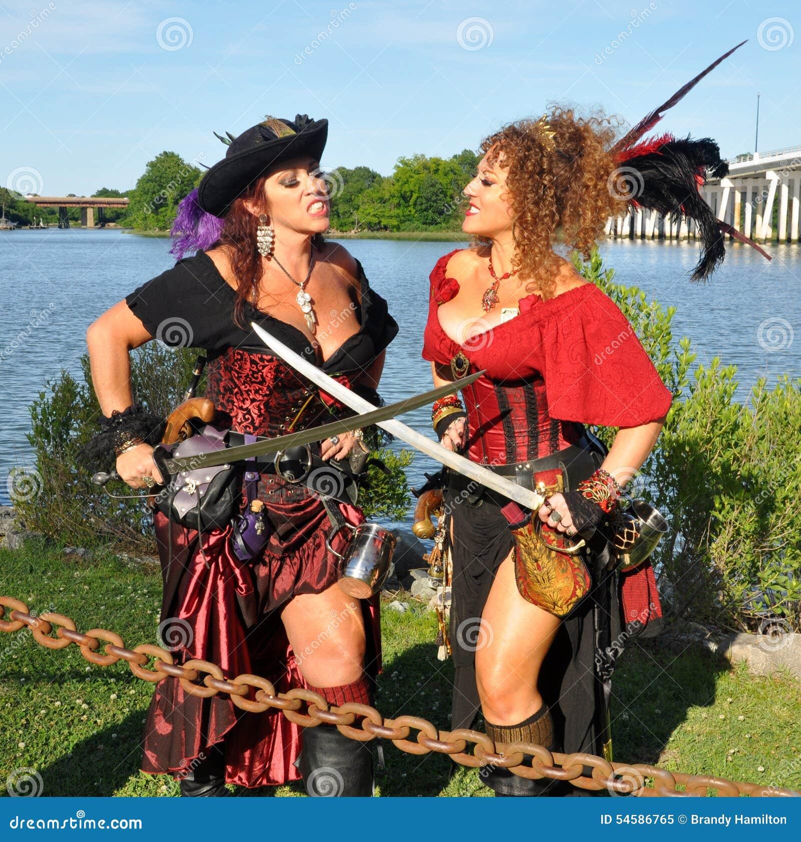... other.Image taken at annual Blackbeard Pirate Festival in Hampton, Va