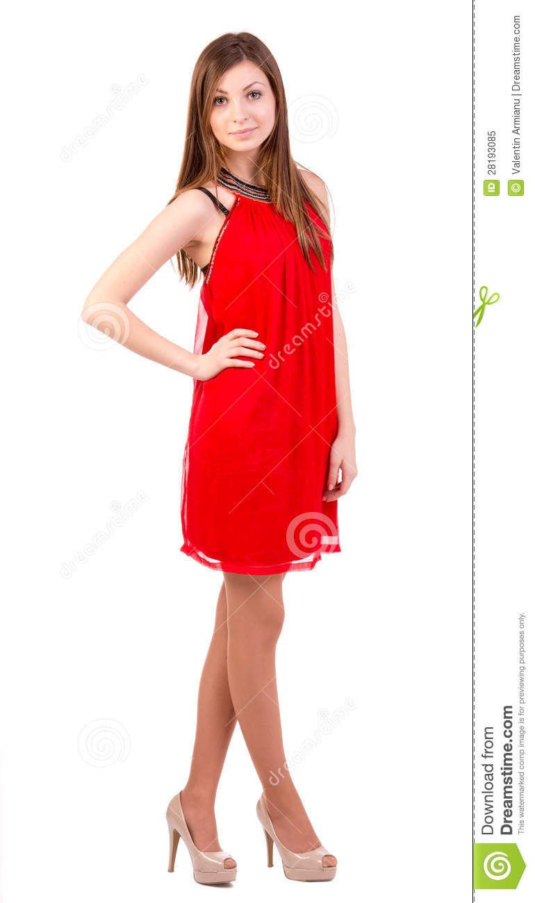 Creative Beautiful Women In Short Dress Royalty Free Stock Photo  Image