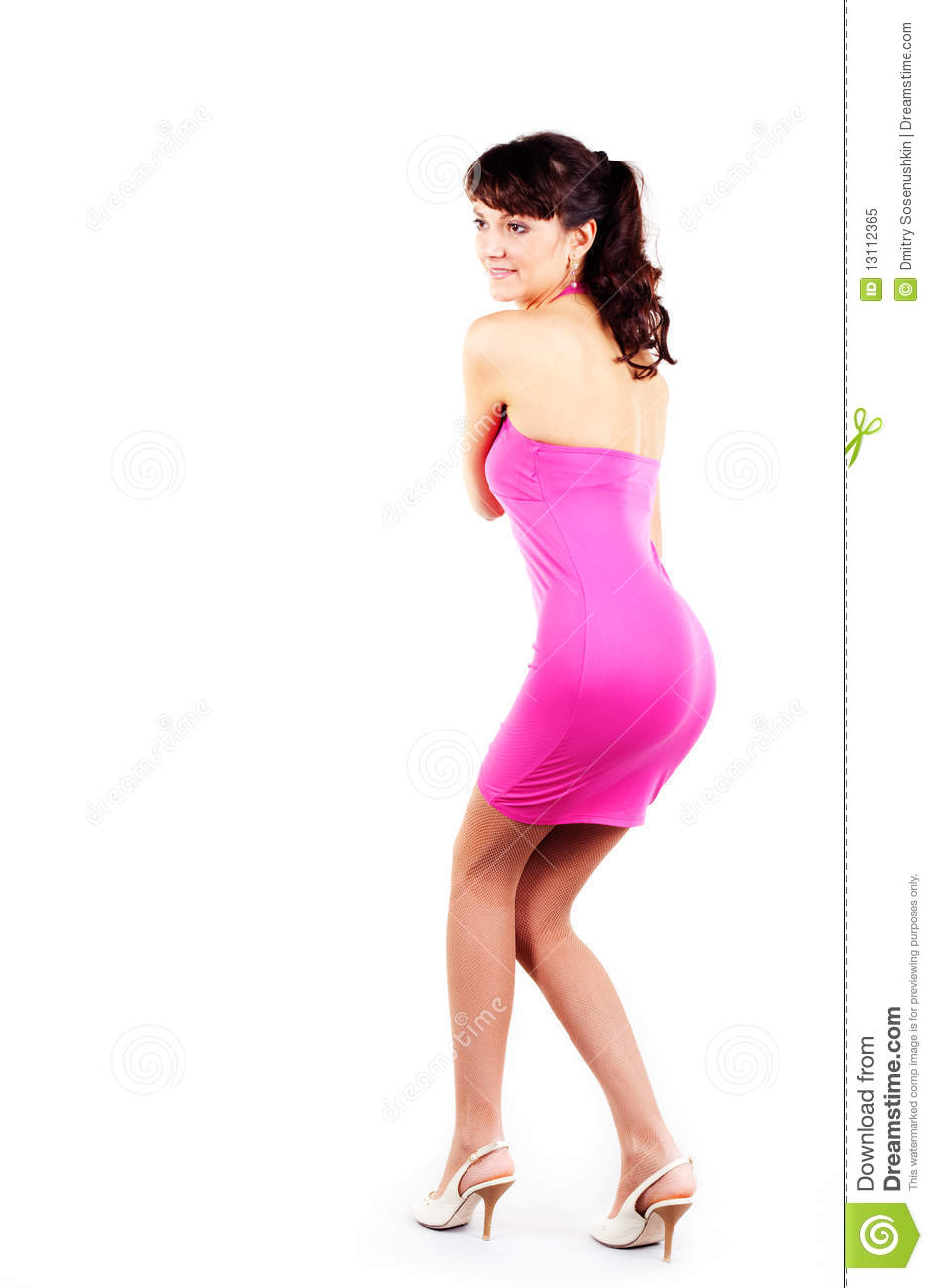 Beautiful Women In Short Dress Royalty Free Stock Photo - Image ...