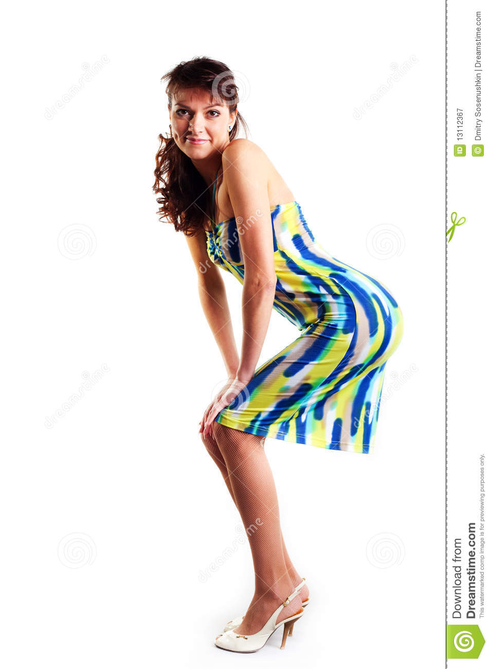 Beautiful Women In Short Dress Royalty Free Stock Photography ...