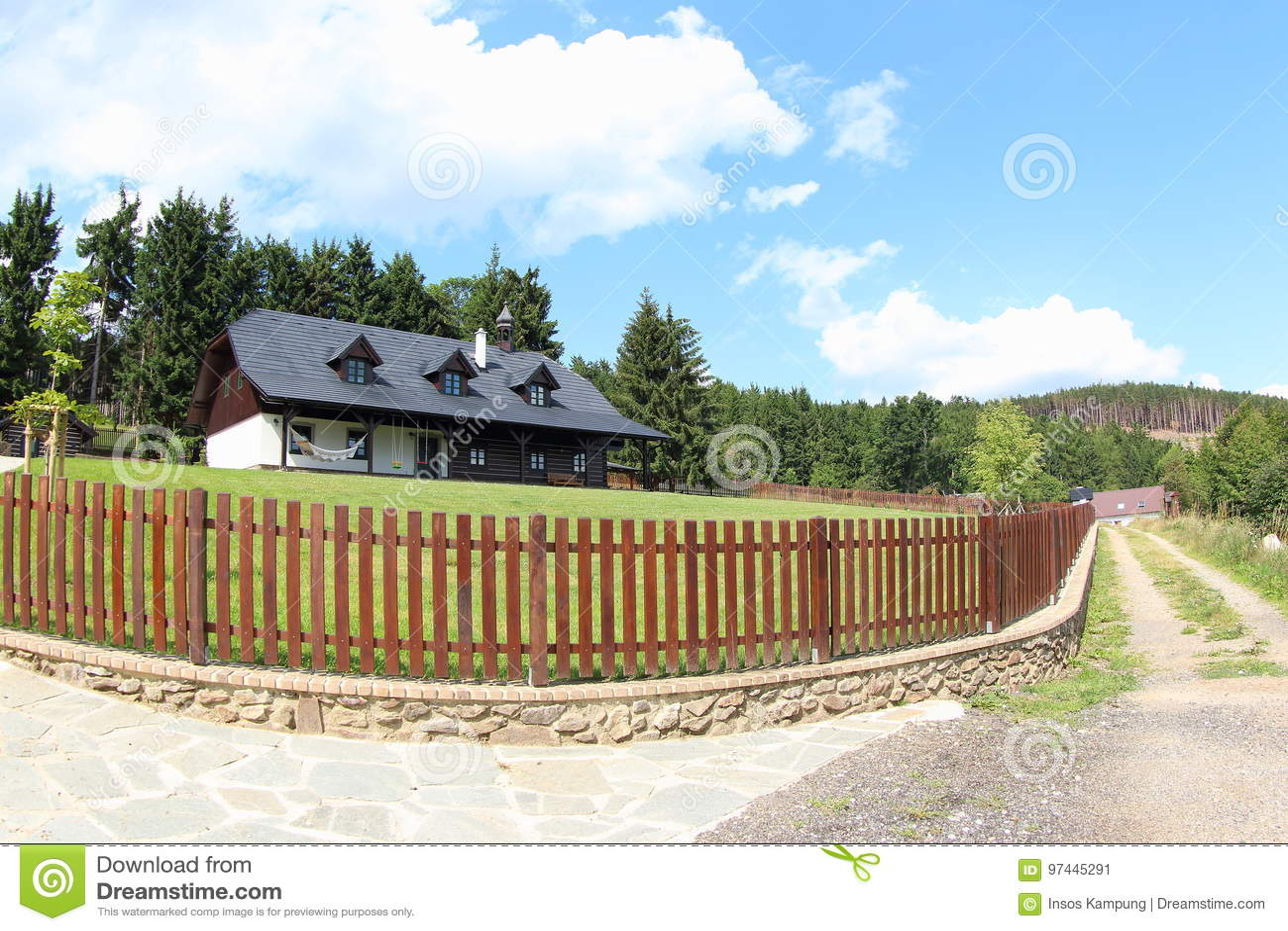 Beautiful Wooden House, Czech Republic
