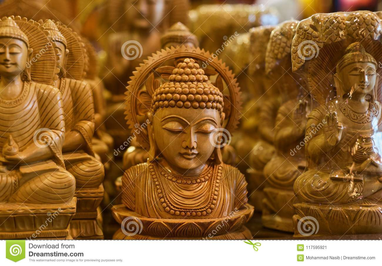 Download Hindu Religious God Isolated Wooden Object Unique Photo Stock Image - Image of religion, isolated: 117595921