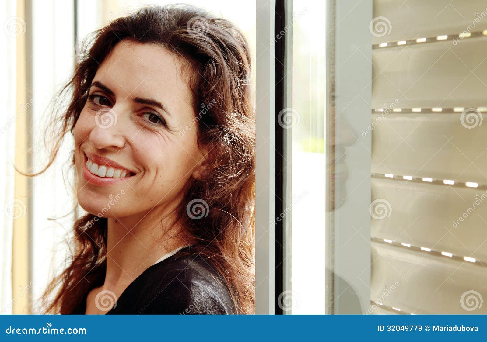 Beautiful 35 years old woman