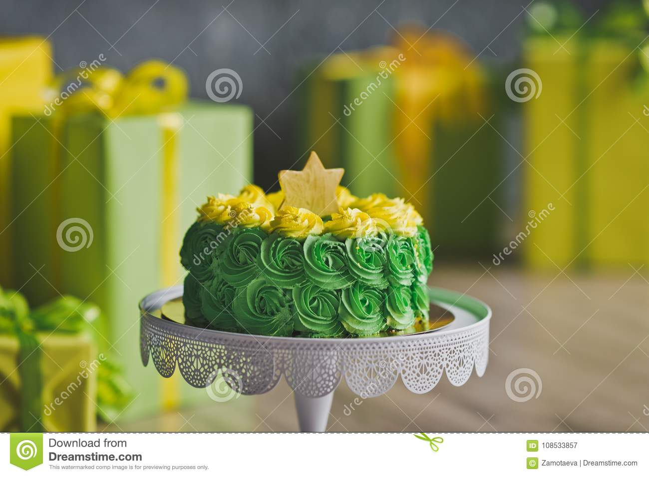 Admirable Baby Cake For A Birthday 9227 Stock Image Image Of Pink Home Personalised Birthday Cards Veneteletsinfo