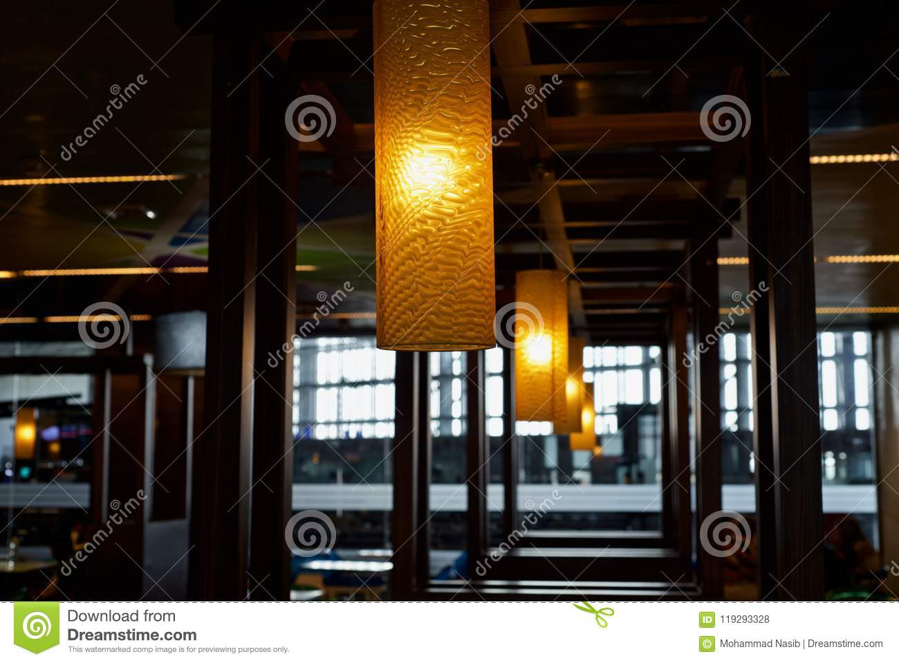 Download Beautiful Interior Decoration Lights  Unique Photo Stock Photo - Image of object, lights: 119293328
