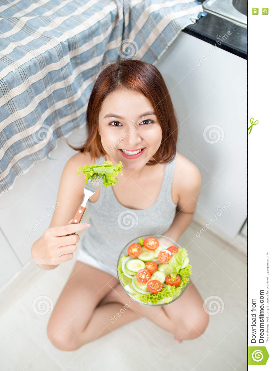 Here asian adult healthy diet