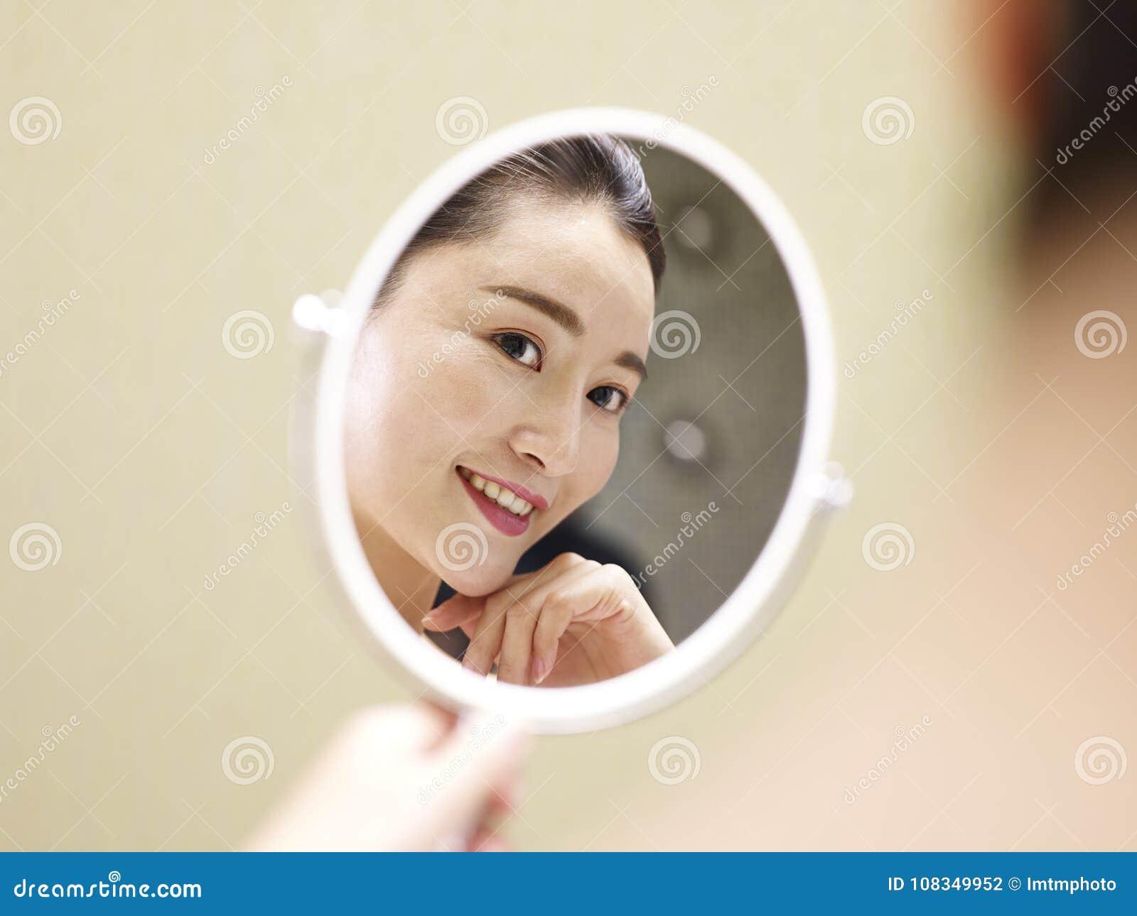mirror Asian self