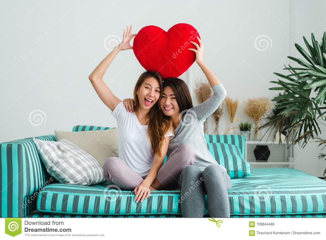 Lesbian living together