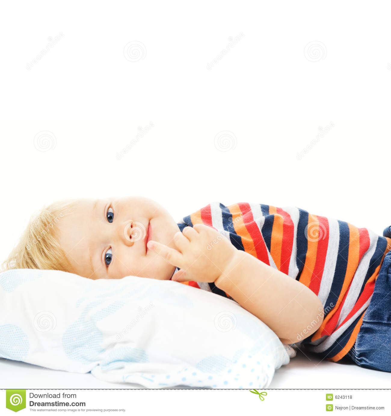 child waking up - photo #19