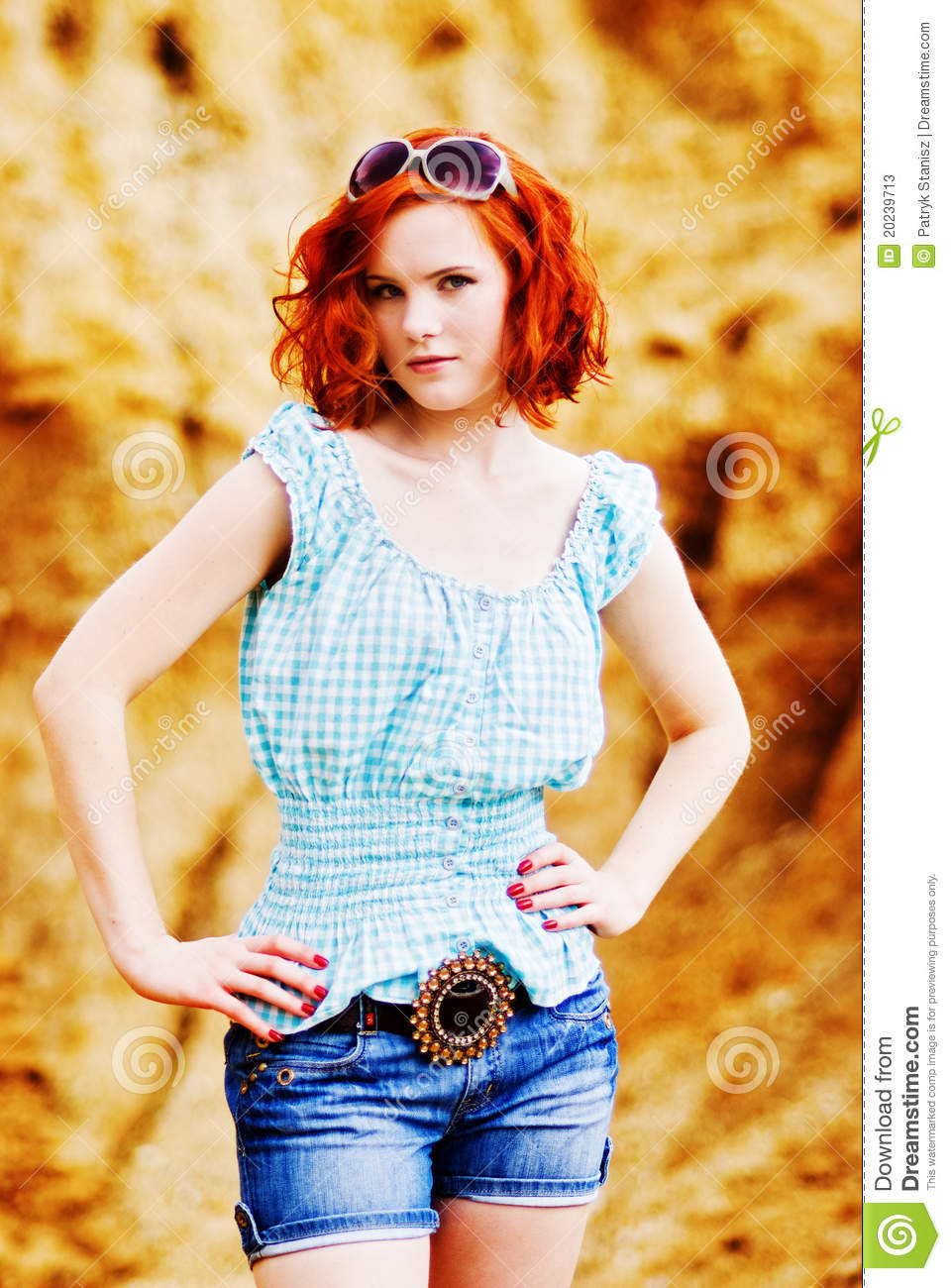 Pity, Young girl with red hair information true