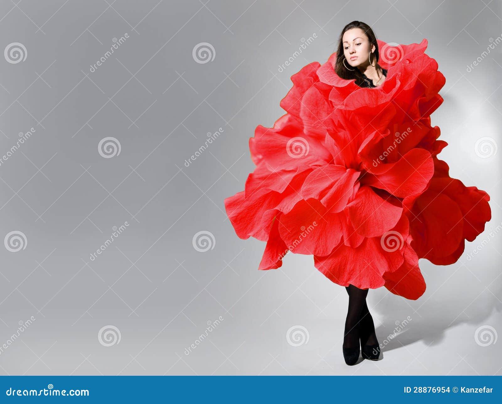 Rose Girl Dress