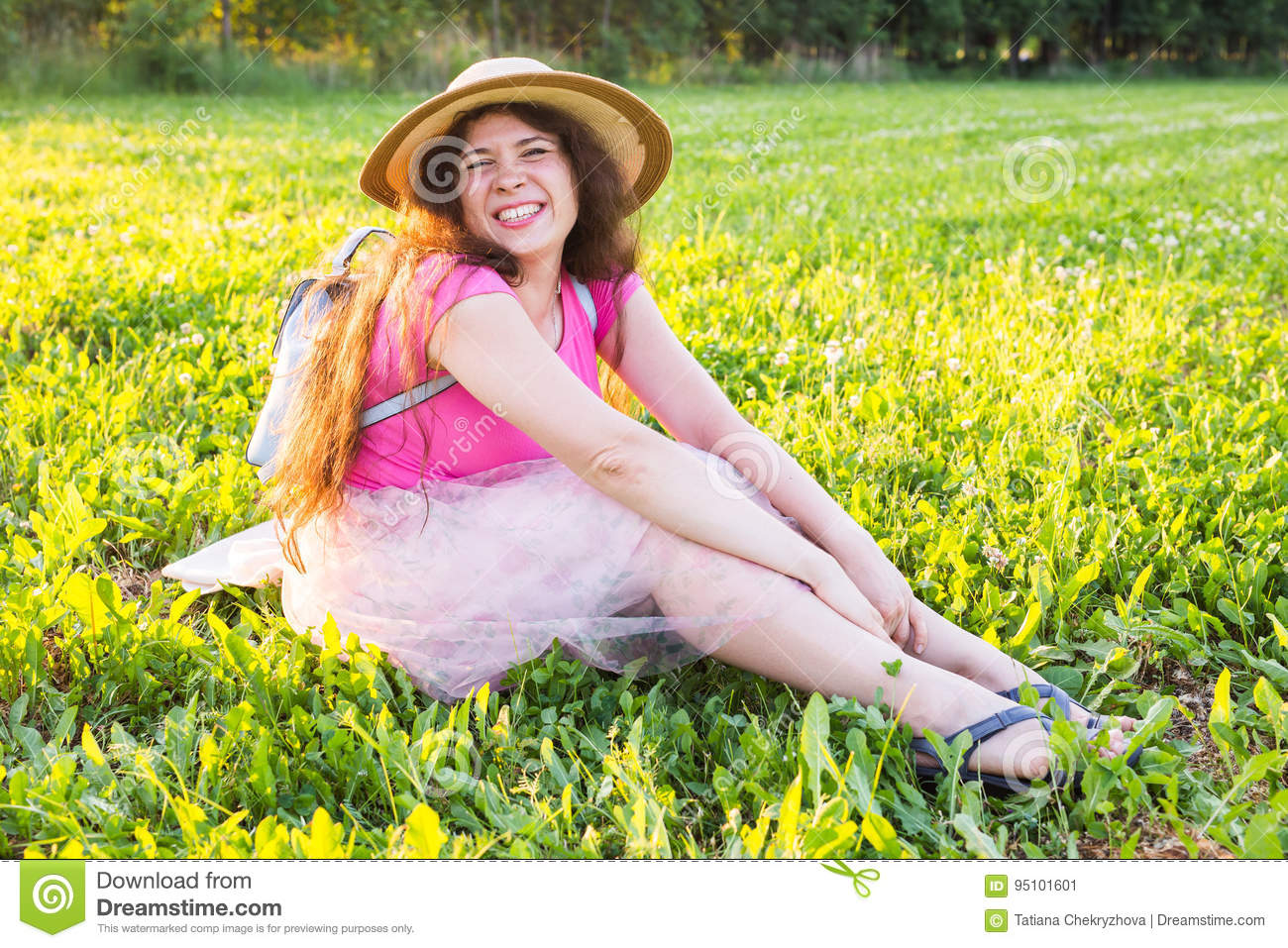 Royalty-Free Stock Photo. Download Beautiful Young Laughing Naughty Woman  ...