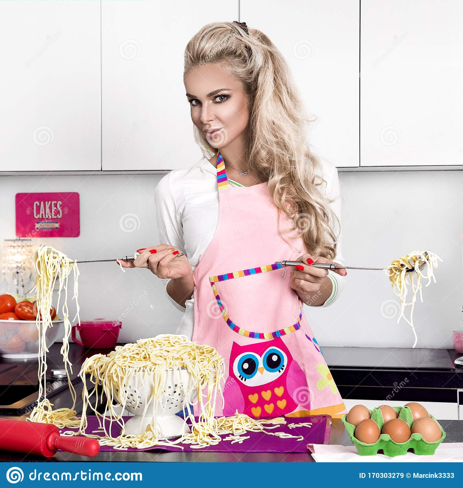 Sexy Female Cook