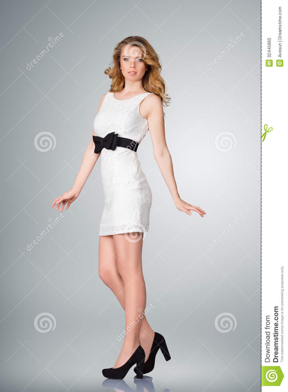 Beautiful Young Woman Full Body Royalty Free Stock Photo ...