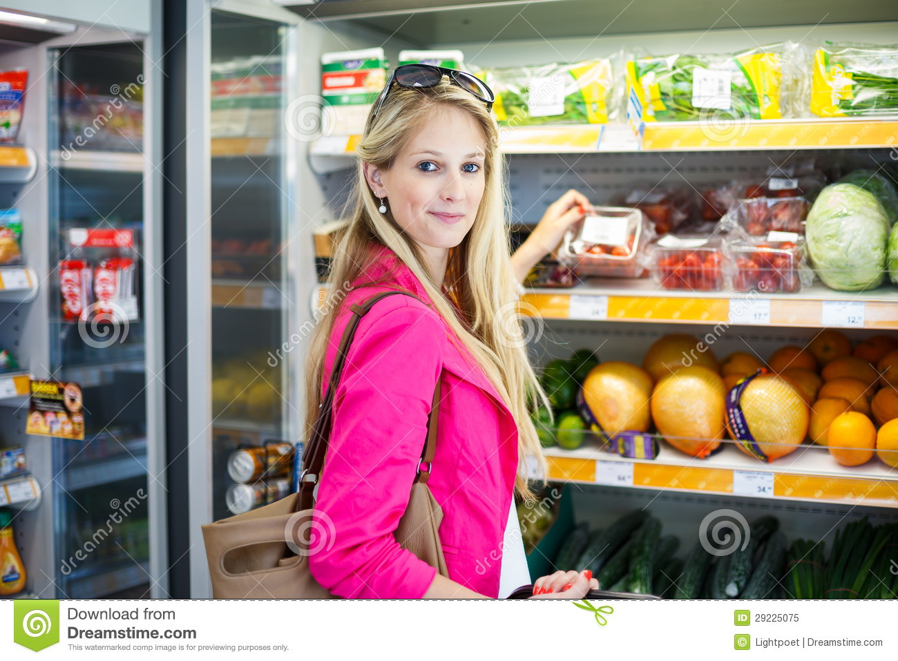 ... Grocery Store/supermarket Royalty Free Stock Photo - Image: 29225075