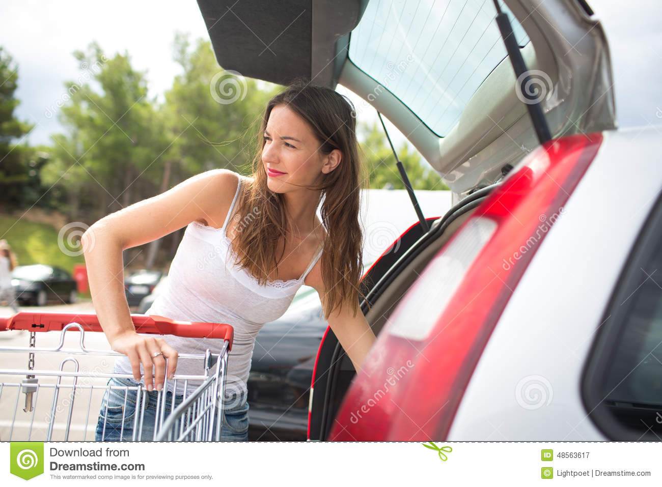 Shopping nude for car picture 703