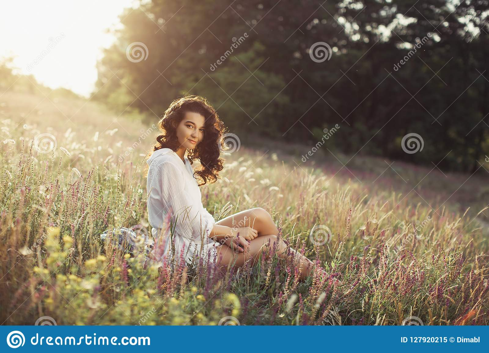 Free Happy Woman Enjoying Nature Beauty Girl Outdoor Freedom Concept Stock Image Image Of Girl Beautiful 127920215