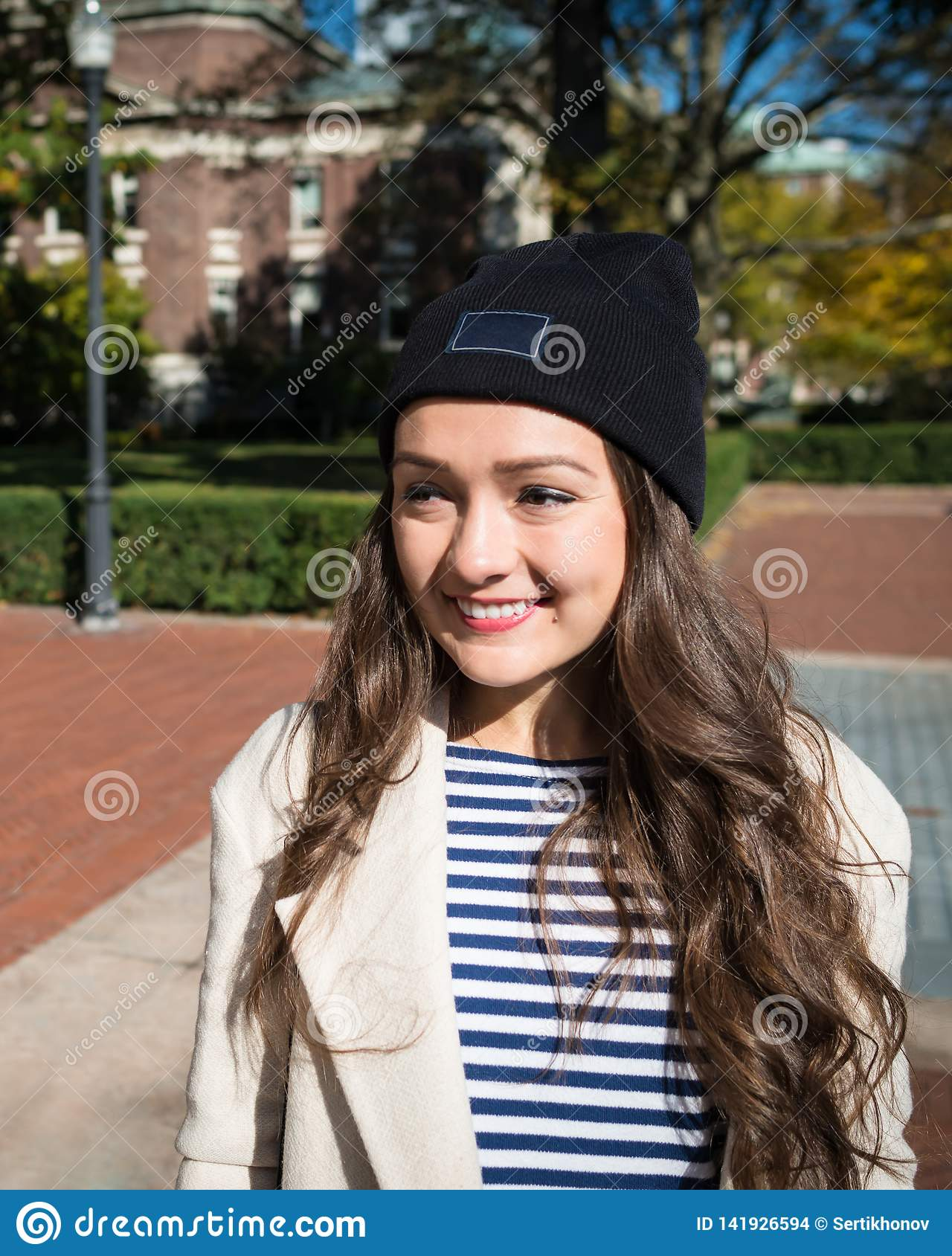 beautiful young woman stands near buildings columbia university new york usa stylish kazakh female student smiling 141926594 Just How Much You Ought To Be Prepared To Pay For An Excellent Dominican Wife