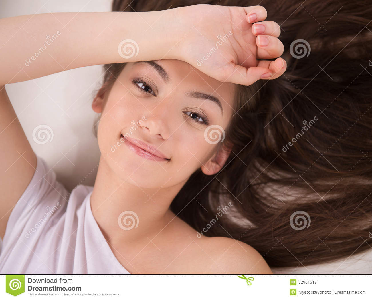 Beautiful Young Woman. Royalty Free Stock Photography ...