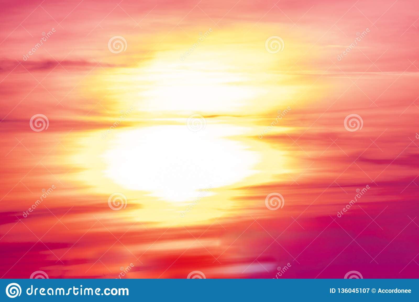 Beautifull Purple Sunset And Clouds Above Green Wide Forest In Summer Season B Stock Image Image Of Morning Evening 136045107