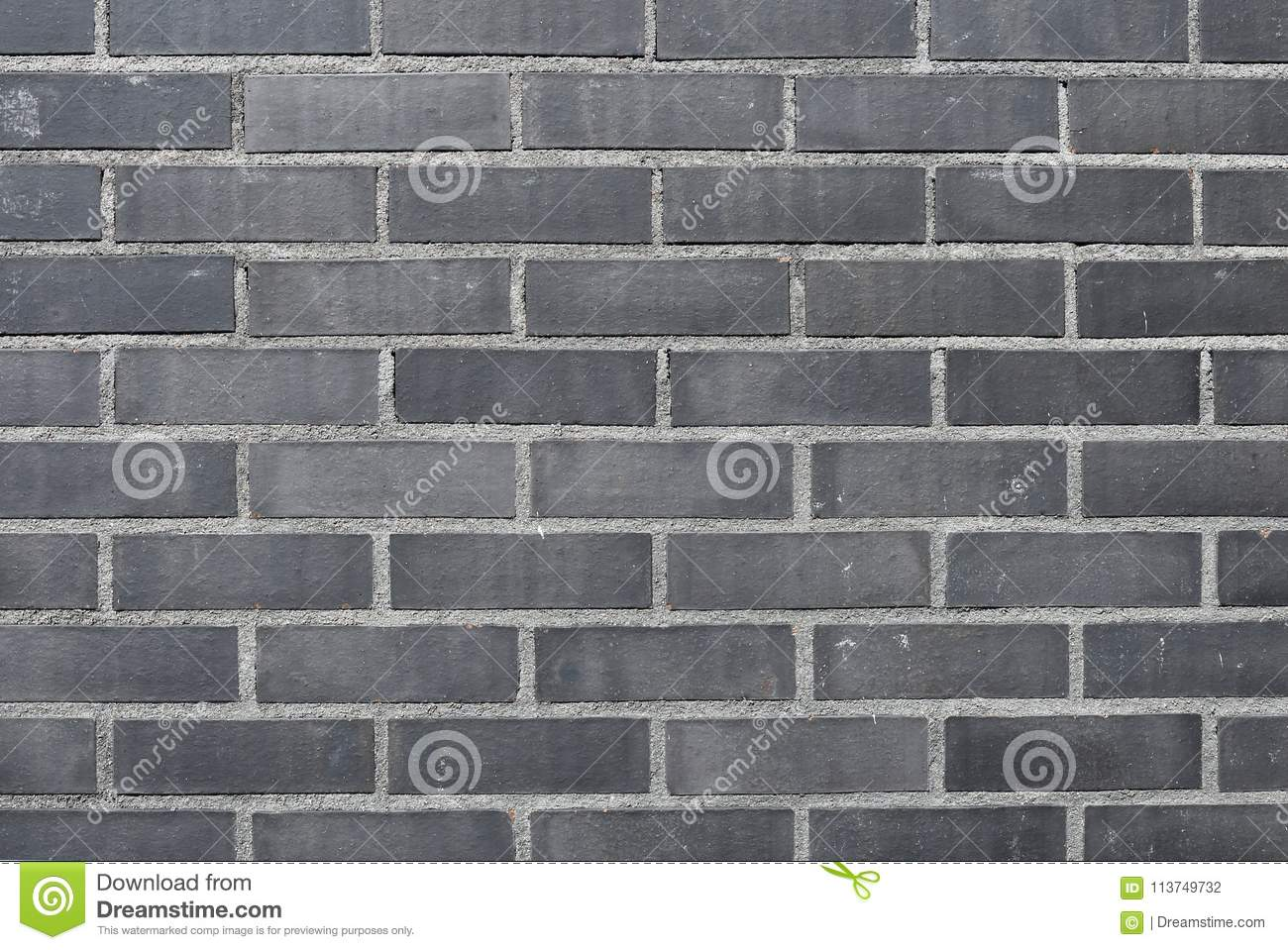 Download Beautifully Textured Dark Grey Brick Wall Stock Photo