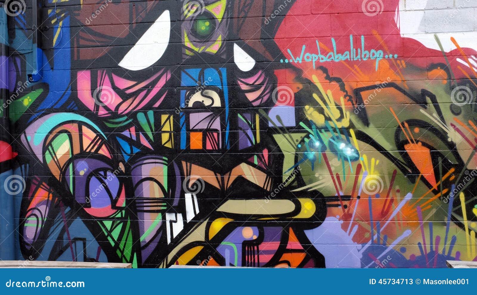 Graffiti wall toronto downtown - Aboriginal Beauttiful Canada Downtown Graffiti