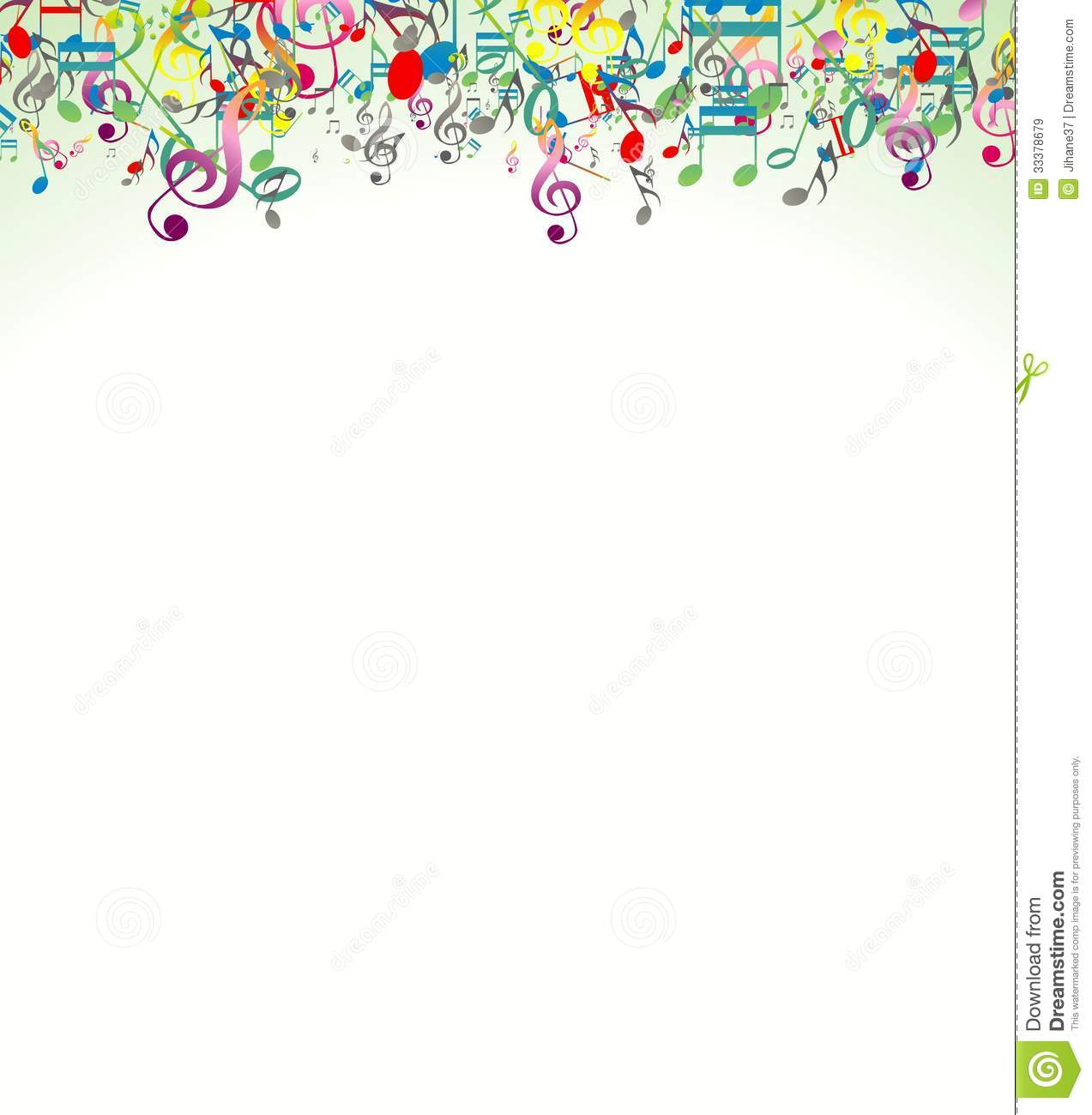 Clipart music notes music notes background clipart and free music - Beauty Abstract Background With Colorful Music Notes Royalty Free Stock Images