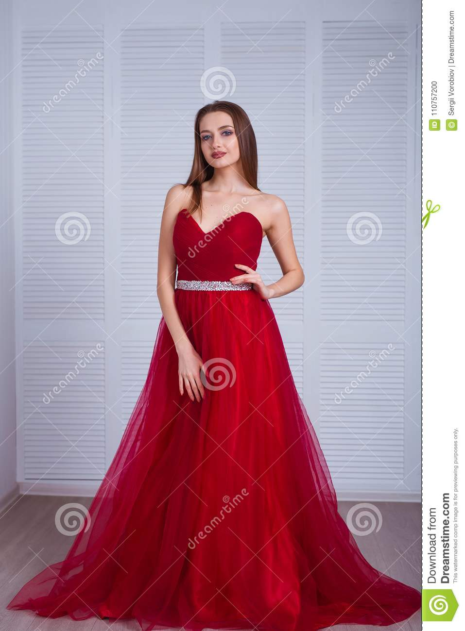 Seductive Red Dress