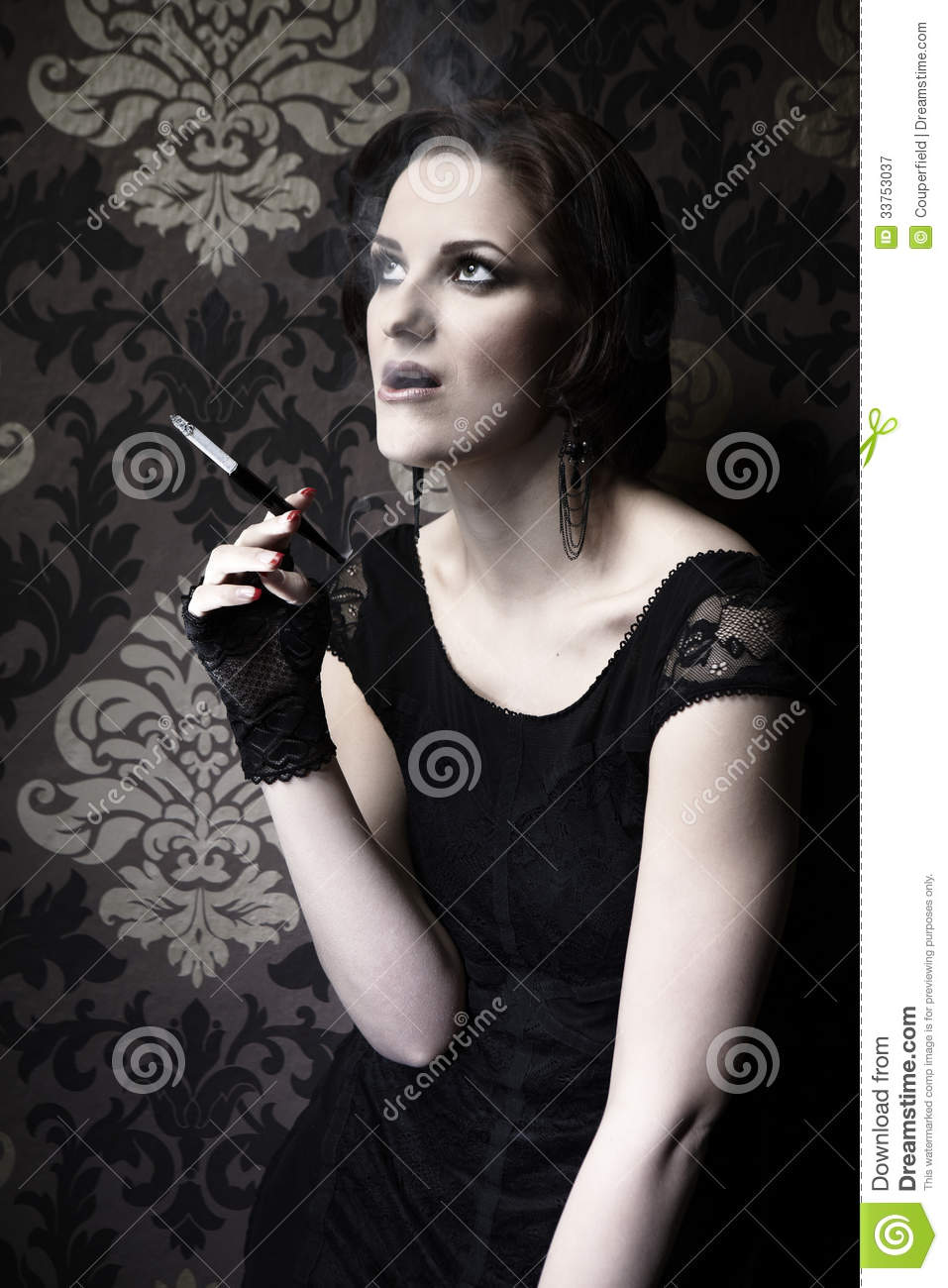 Beauty And Cigarettes Royalty Free Stock Photography ...