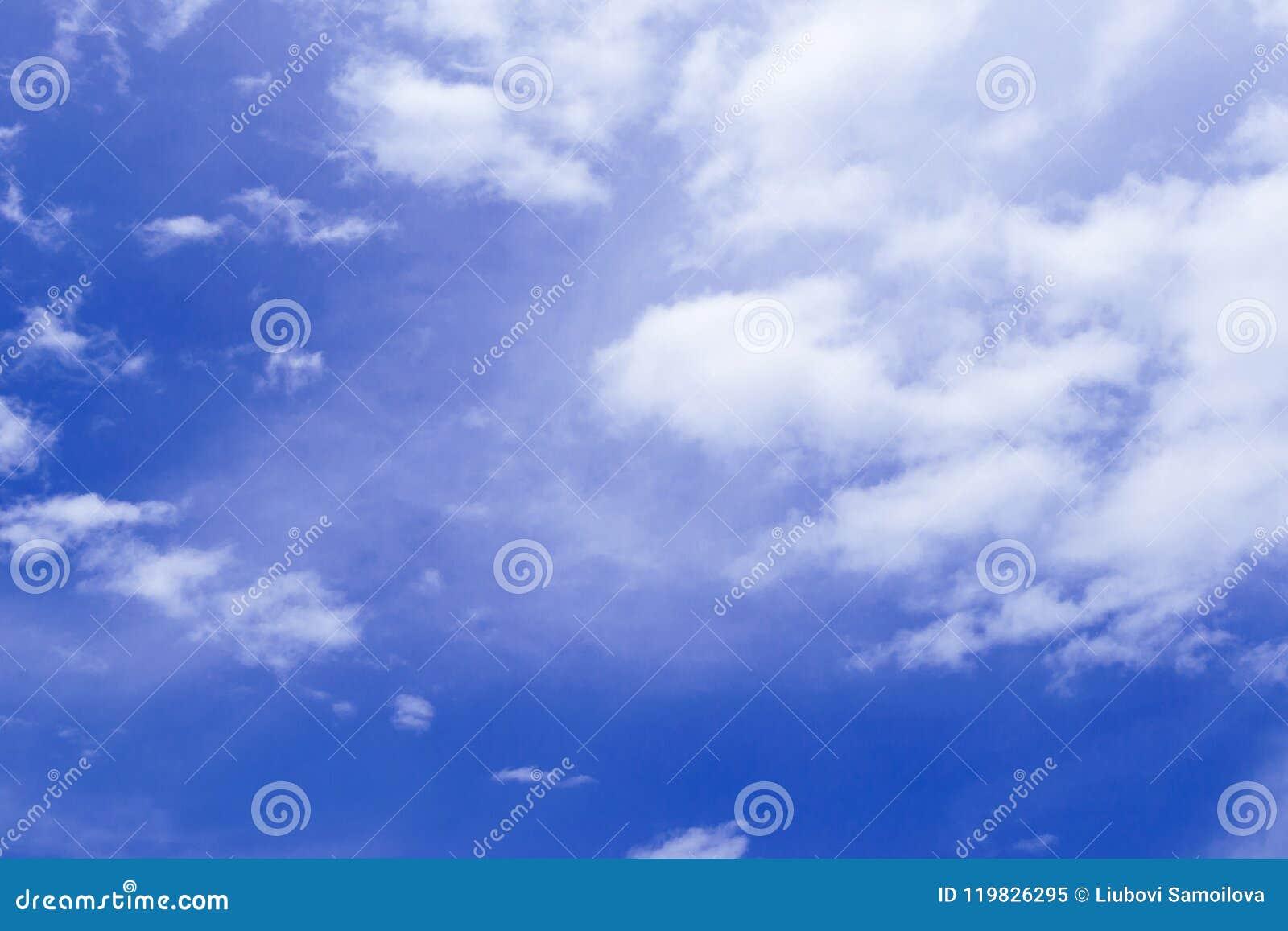 Beauty Cloudy Heaven, Blue Sky.Beautiful Blue Sky With ...