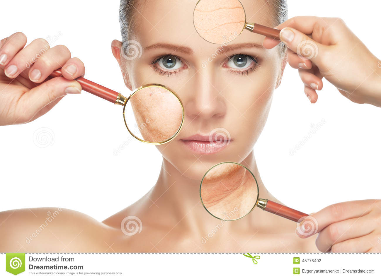 Facial skin procedures