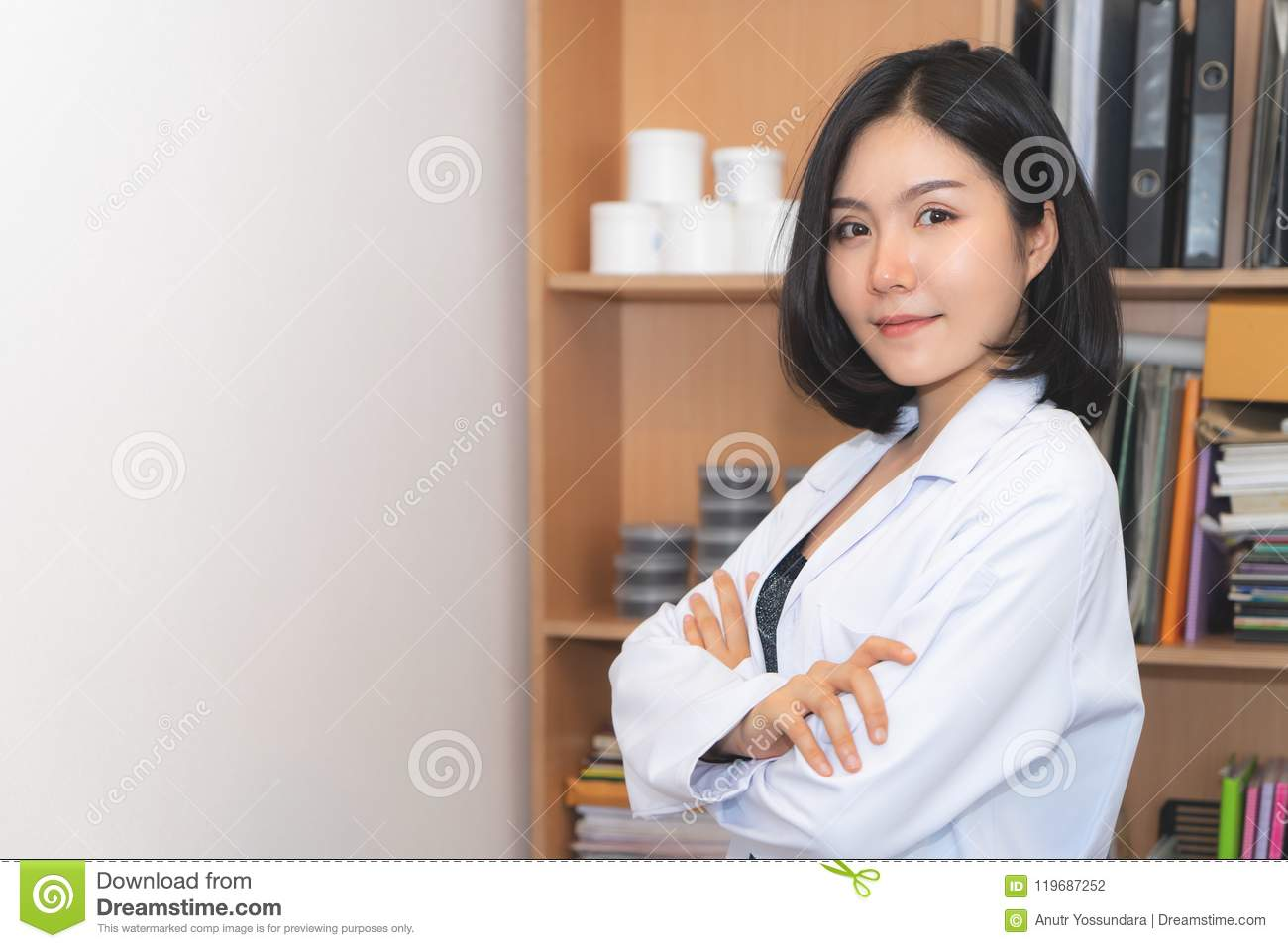 Beauty Cosmetic medical Female Lab worker