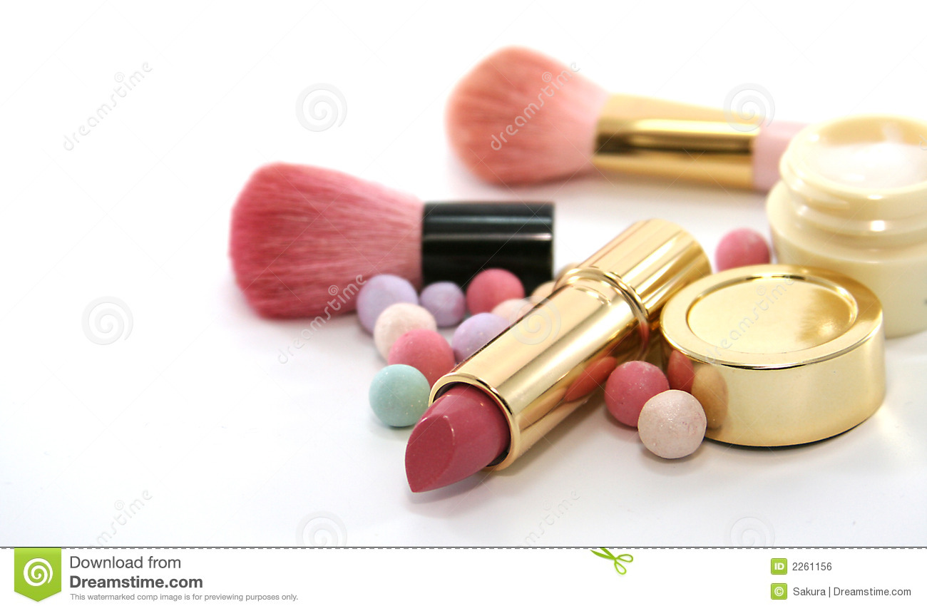 Beauty cosmetics set stock photo image of make products for What is cosmetics made of