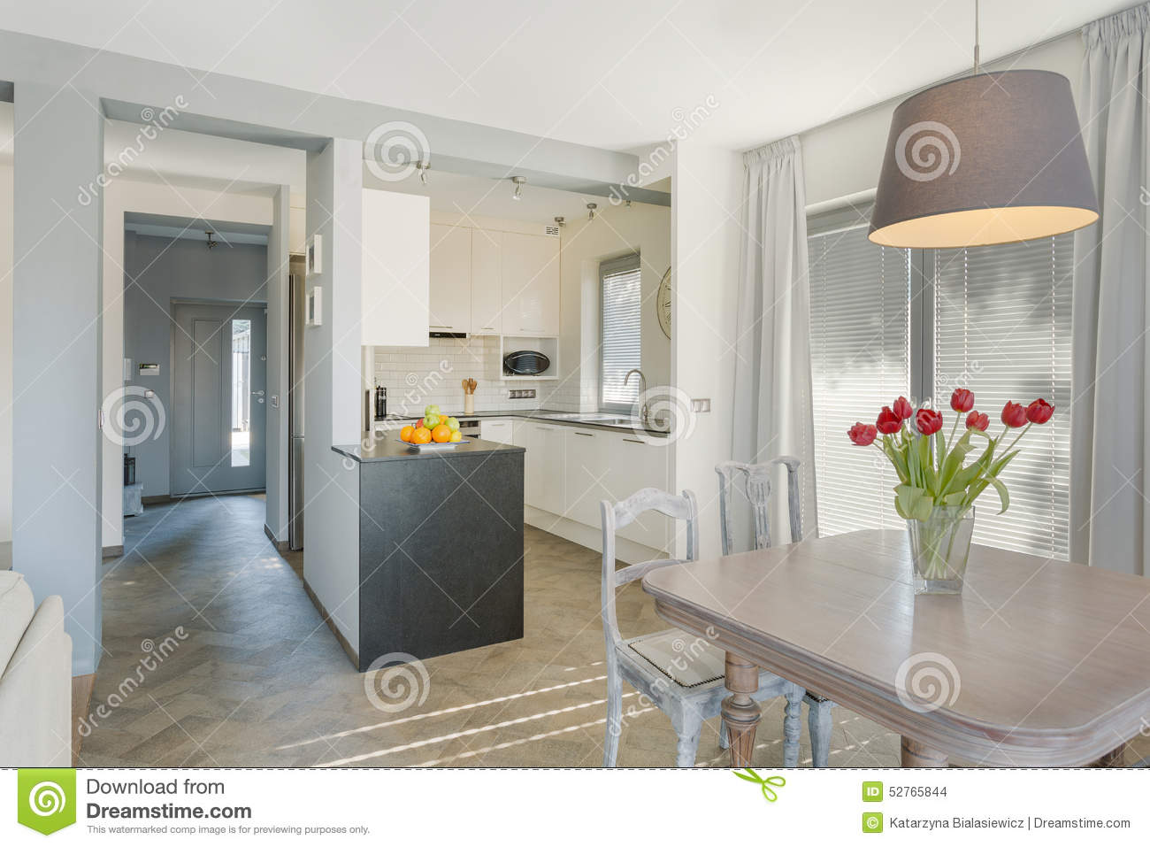 Cozy Kitchen Beauty And Cozy Kitchen Stock Photo Image 52765844