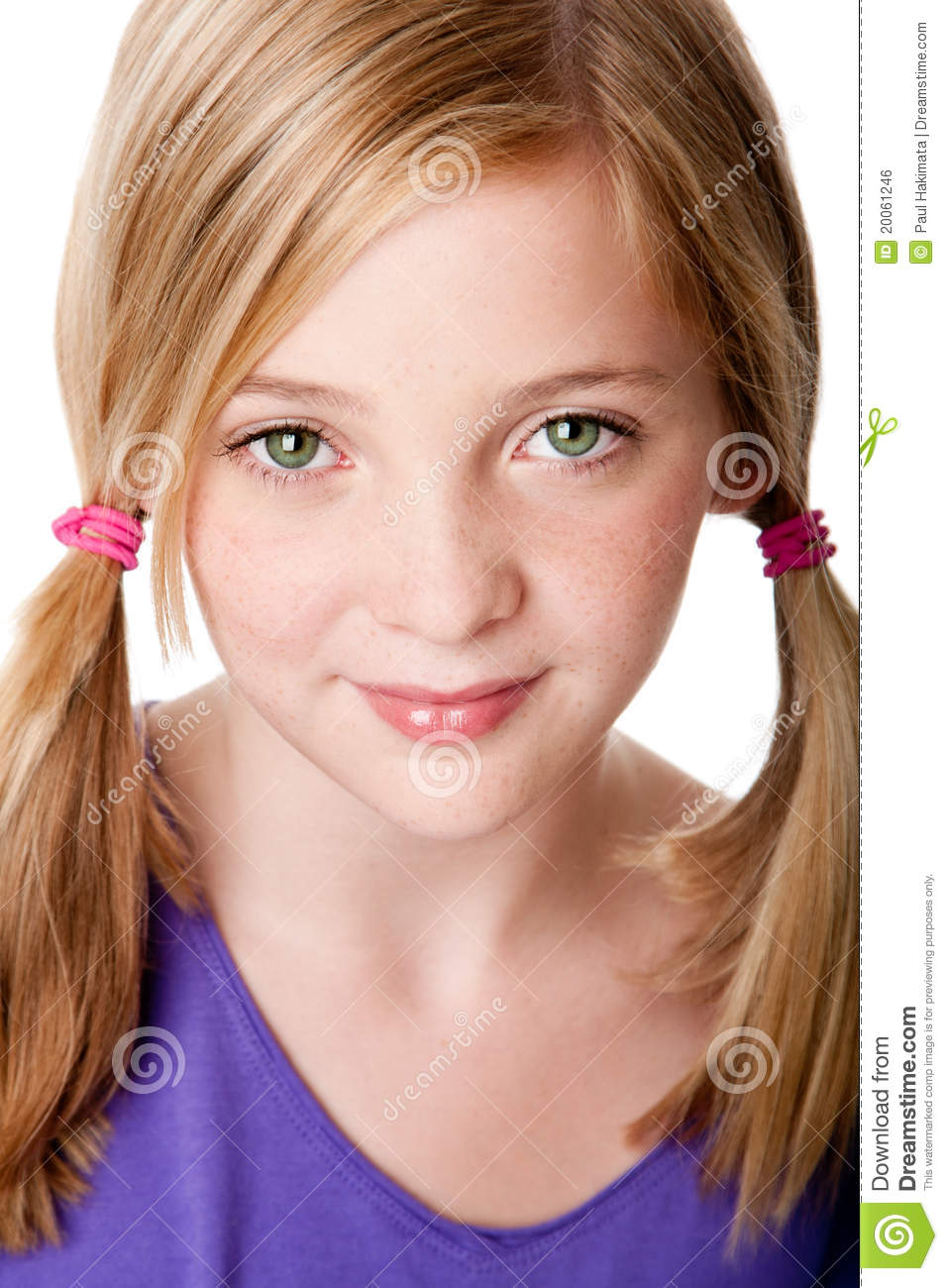 Beauty Face Of Teenager Girl Stock Photo - Image 20061246-8043
