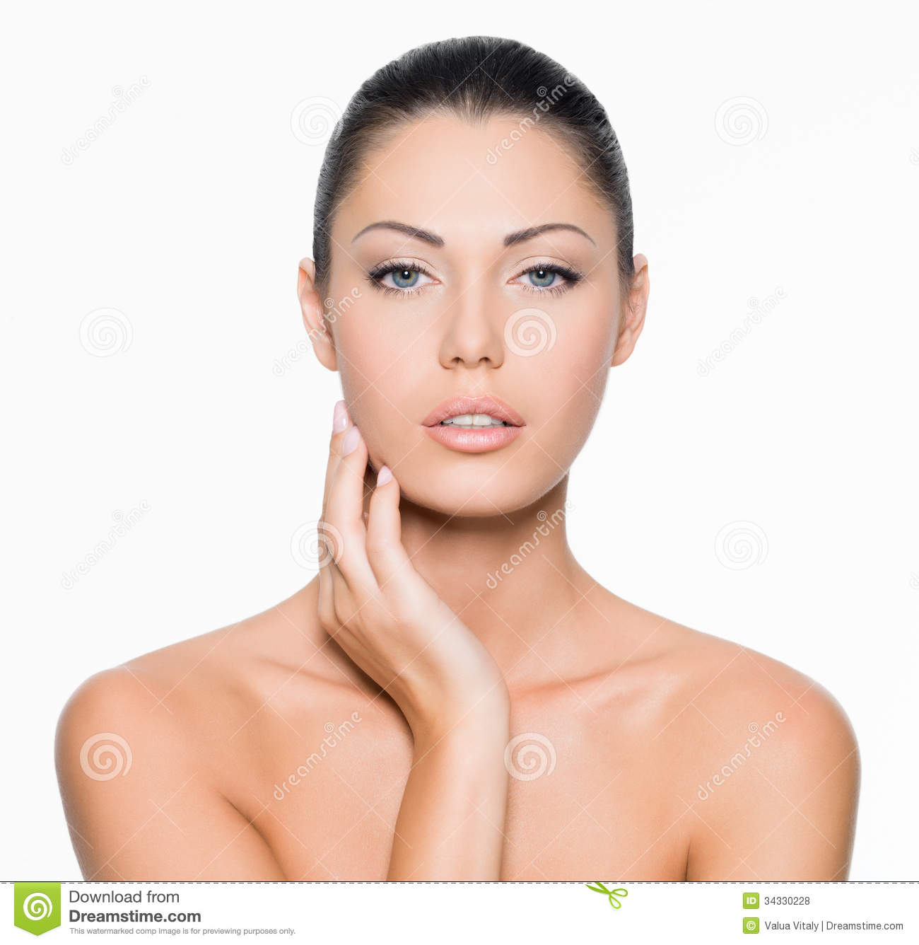 Beauty Face Stock Photo Image Of Background Care Beauty 34330228