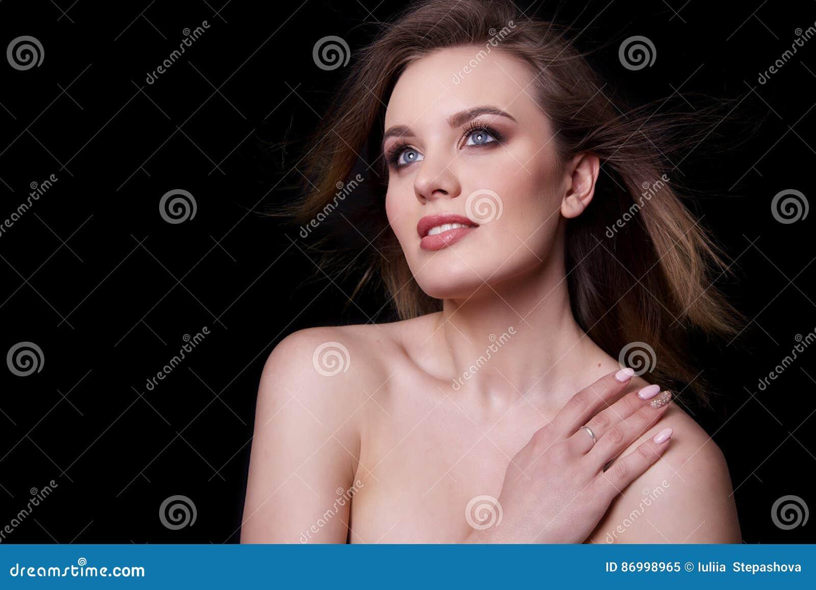 Beauty Fashion Model Woman , portrait.
